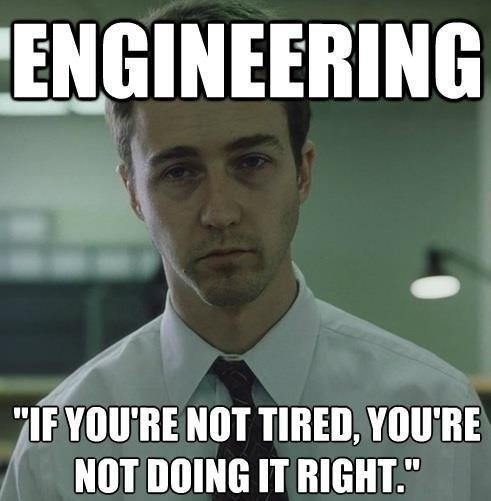 It's Tiring to Be an Engineer