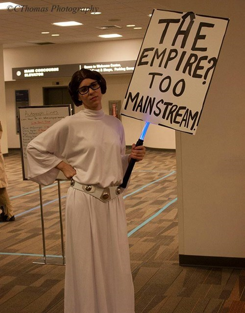 hipsters,Princess Leia,too mainstream,cosaply