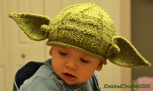 Baby's First Yoda Cosplay