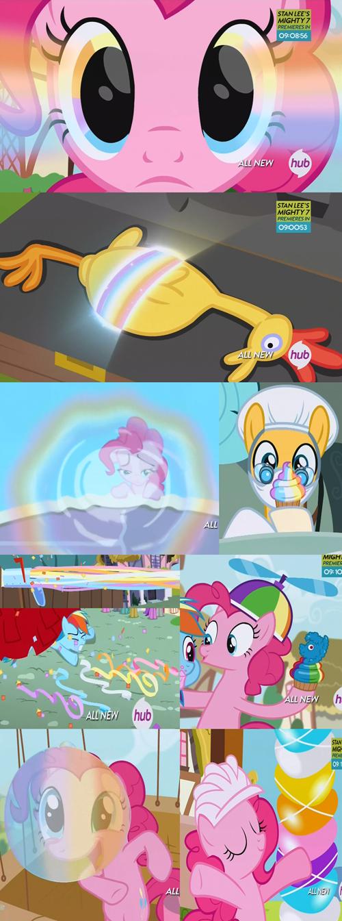 rainbows,pinkie pie,magic key,magic box