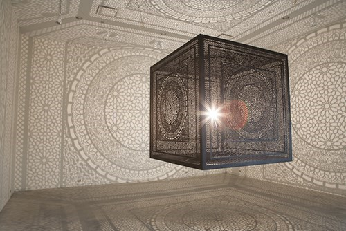 Put a Light Inside This Intricate Cube and Magic Happens