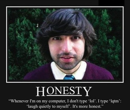 Honesty Is another Letter