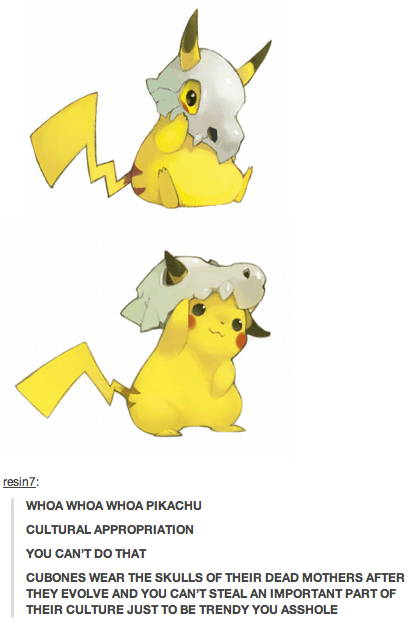 Pikachu is so Insensitive