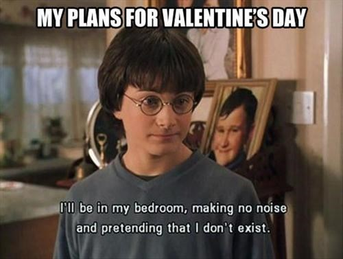 If This is You on V-Day, You're Not Alone