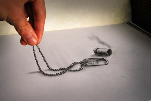 Optical Illusion Drawings So Real You'd Believe They Were Photoshopped