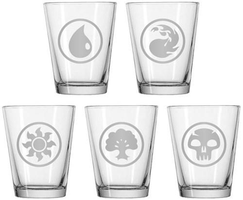 shot glasses,magic the gathering,etsy