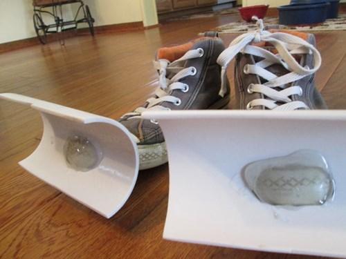 shoes,snow,life hacks,DIY,winter
