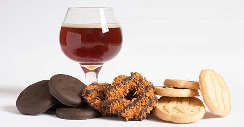 Beer & Girl Scout Cookies