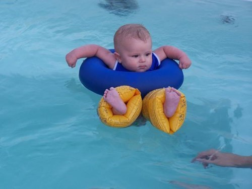 Most Buoyant Baby Ever