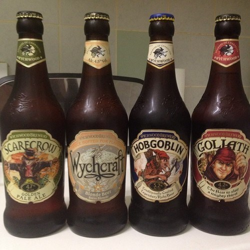Those Spooky Wychwood Beers