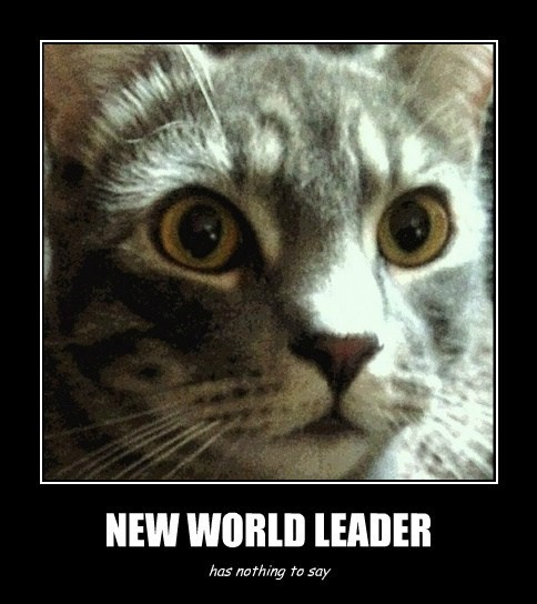 NEW WORLD LEADER