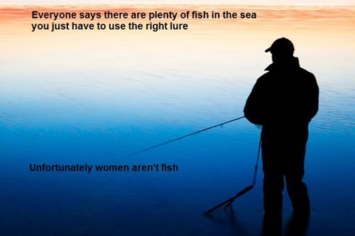 analogy,fish,funny,women,dating,g rated