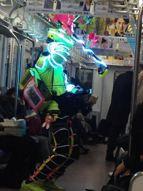 lights,poorly dressed,Subway,g rated