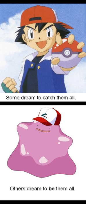 ash,Pokémon,ditto