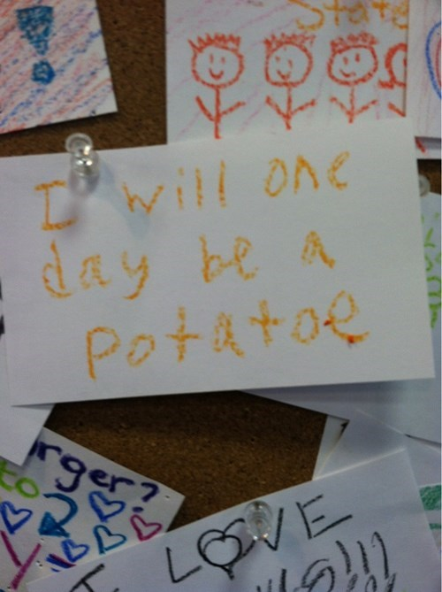 goal,kids,potato,note,parenting,g rated