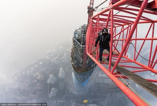 This is What it Looks Like to Climb the Second Highest Tower in the World