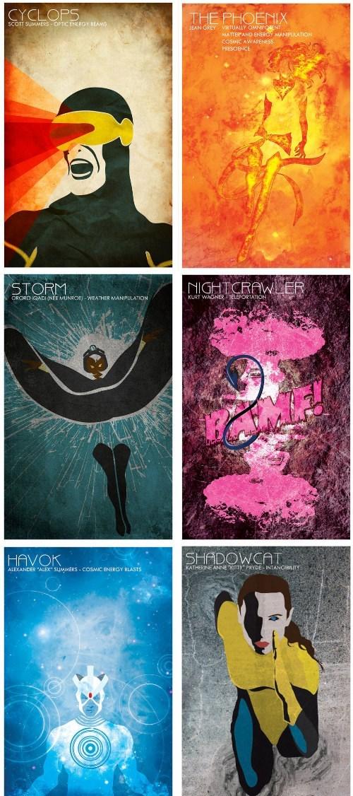 X-Men Team Posters