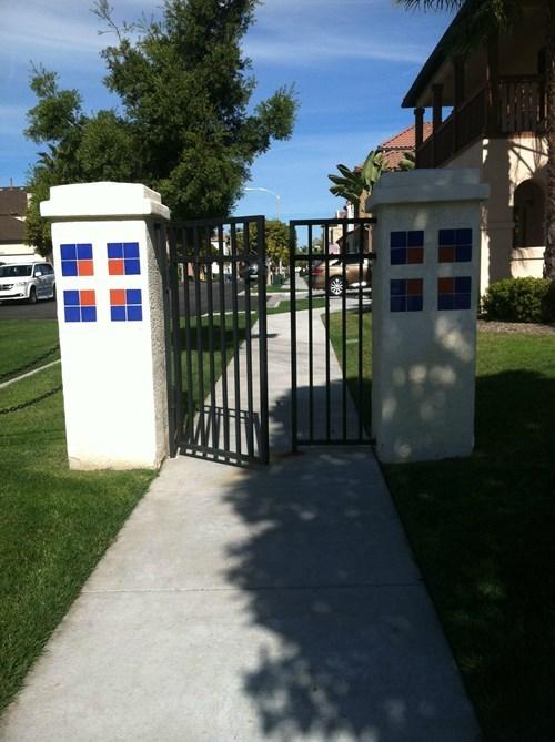 security,facepalm,gate
