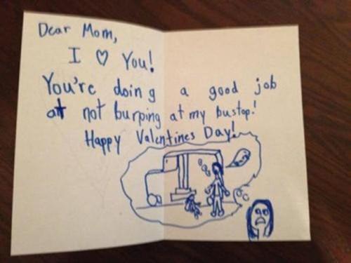 kids,note,parenting,Valentines day