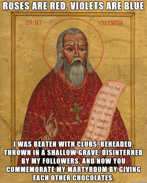 Bad Luck St. Valentine
