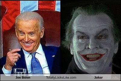 Joe Biden Totally Looks Like Joker