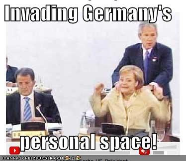 angela merkel,george w bush,Germany,president,Republicans