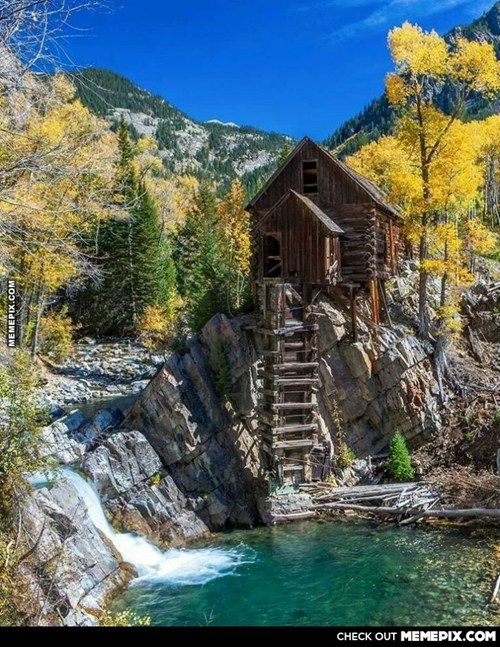 Abandoned Ghost  Town Of Crystal River, Colorado