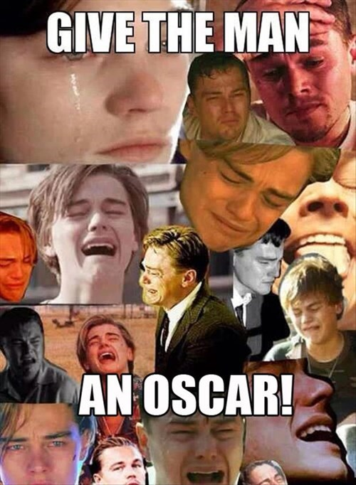 He's Dying for an Oscar