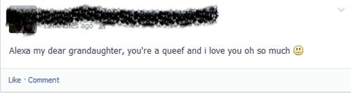 typo,accidental gross,grandma