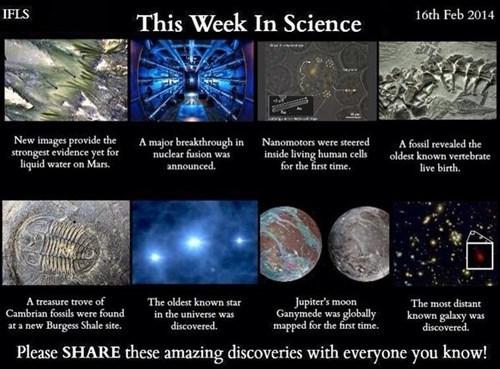 Last Week in Science