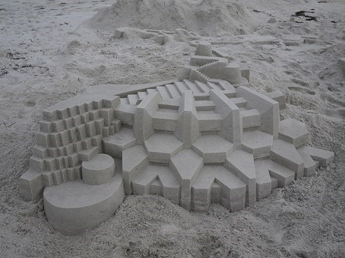 beach,sand castle,sandwich