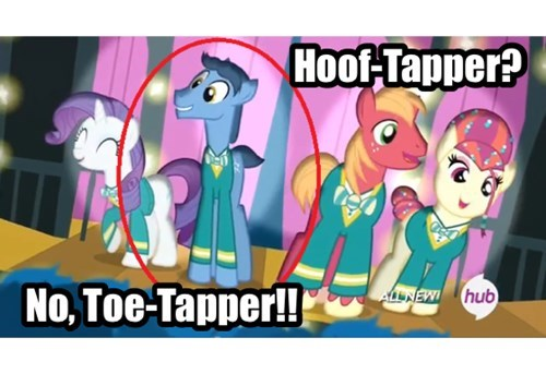 Toe Mutation Pony