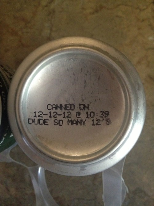 Who Is Labeling These Beer Cans