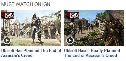 IGN,assassins creed