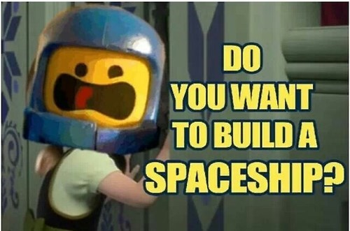 It Doesn't Have to be a Spaceship