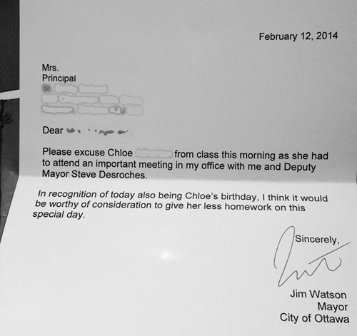 mayor,kids,principal,ottawa,parenting,note,g rated,win