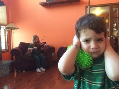 kids,siblings,parenting,violin,g rated