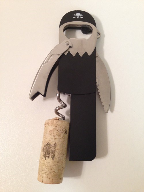 One Legged Bottle Opener