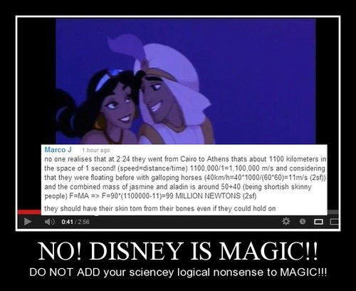 Disney & Science Don't Mix
