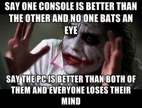 Memes,PC MASTER RACE,joker mind loss