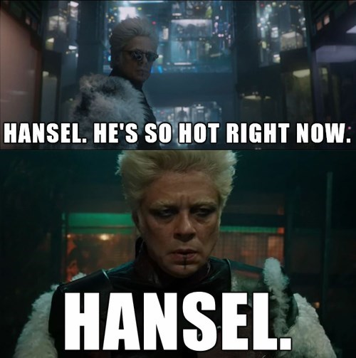 Hansel's In All The Marvel Movies