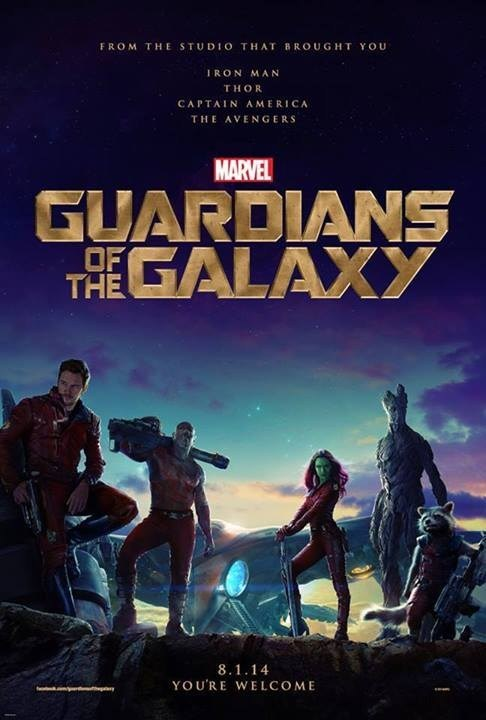 Official Guardians of the Galaxy Poster!