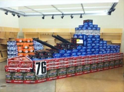 groceries,battleships,beer,food,commies