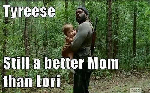 Yeah, Tyreese Would Never Leave Kids Alone In The Woods
