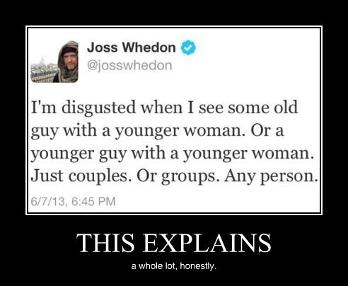 people,disgusting,Joss Whedon,funny