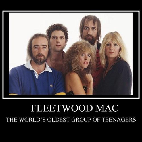 teenagers,fleetwood mac,funny,band