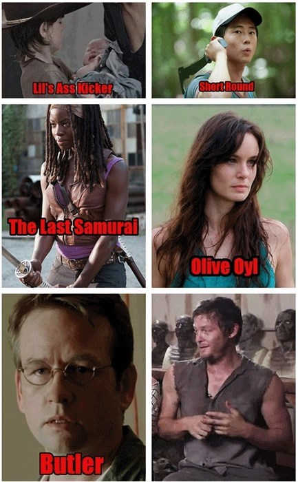 Daryl Dixon's Many Pet Names