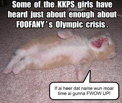 KKPS girls continue to be unsympathetic about Foofany's Olympic loss