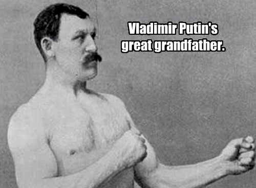 Vladimir Putin's   great grandfather.