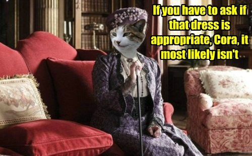 Advice from the Dowager
